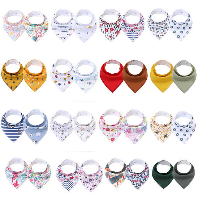 Baby Bandana Drool Bibs for Boys and Girls, Organic Cotton Unisex Baby Shower Gift Set for Teething and Drooling Newborn Bibs Accessories Infant (3-12 months) Regular Bibs & Bandanas Shop by Age Toddler (1-3 years)
