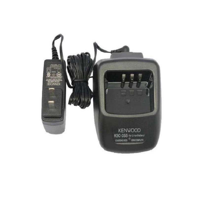 110V//220V KSC-35 Li-ion Battery Charger for KENWOOD KNB-45L KNB-45 2-way Radio