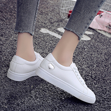 Купить с кэшбэком Women Flat Shoes White Ladies Shoes Spring/Summer/Autumn/Winter Casual Female Shoes Flats Loafers Woman Footwear