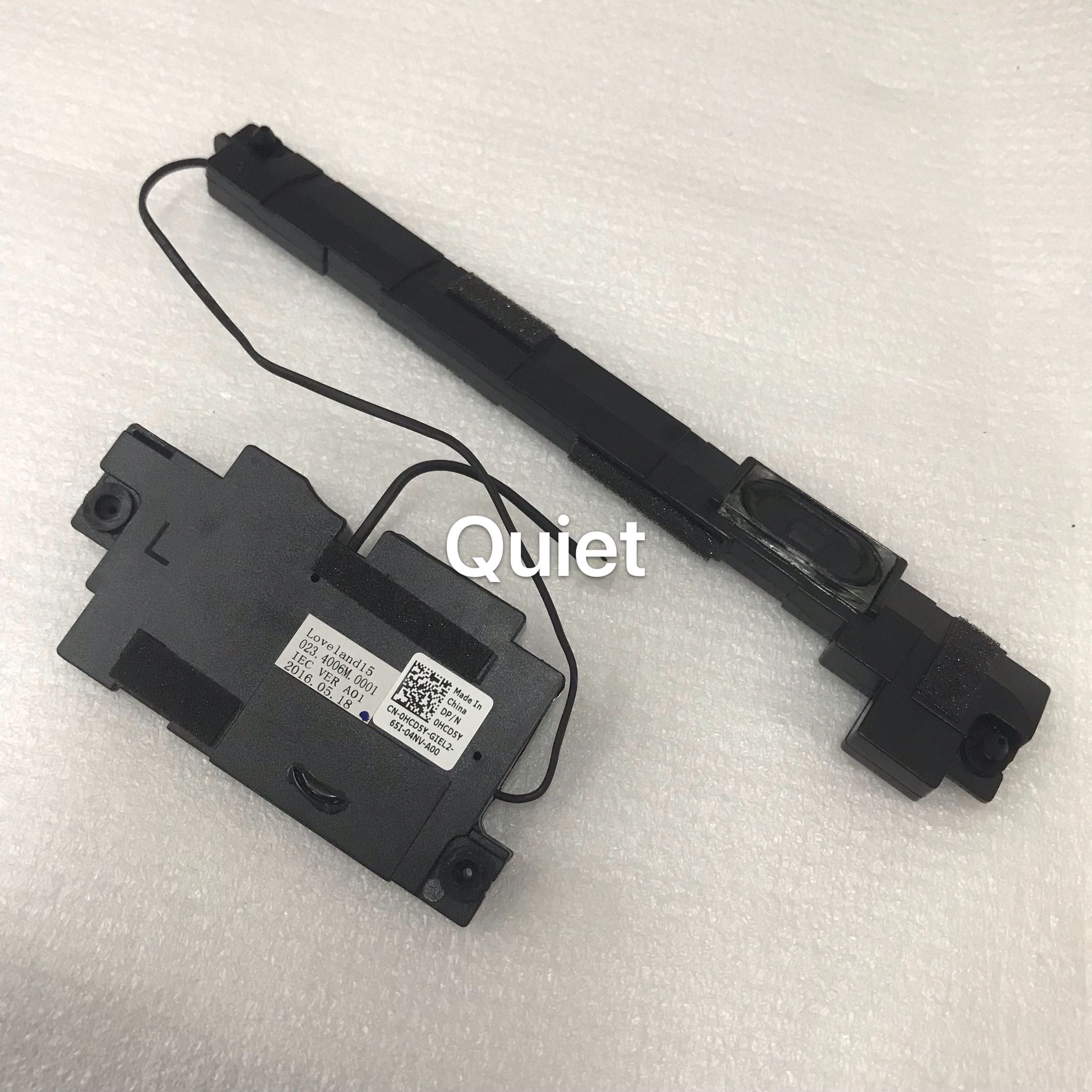 Free Shipping Original For Laptop 3570 Audio Speaker Left Right L R Speakers Set 023 4006m 0001 Hcd5y 0hcd5y Test Good Sound Cards Aliexpress