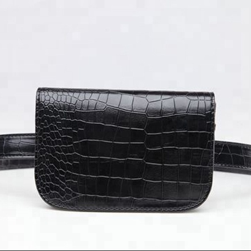 Waist Bag Fur Fanny Pack Fashion Leather Alligator Pocket Women Shopping Guide   Caja Fuerte Secreta Oculta