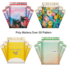 10PCS Eco-friendly Plastic Mailer Clothing Bags Poly Mailer Self Seal Envelopes Gift Package Mailers Courier Shipping Envelopes