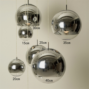 Image 4 - زجاج حديث قلادة حامل مصباح led الدرج (واحد إلى ثلاثة أضواء) مطعم قلادة led أضواء مصباح لغرفة المعيشة تصفيح كروية