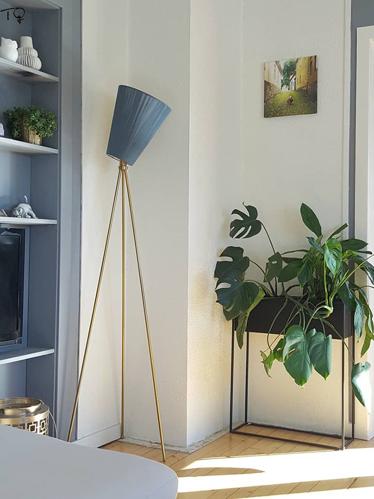 Danish Design Ins Oslo Wood Floor Lamp