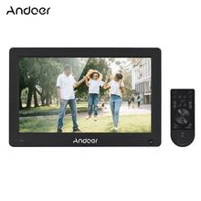 """Andoer 11,"""" Цифровая фоторамка ips полноэкранный электронный фотоальбом с высоким разрешением 1920*1280 поддержка 1080P HD видео"""