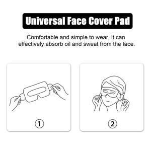 Image 4 - Mascarilla de algodón desechable VR para oculus Quest 2, protección facial