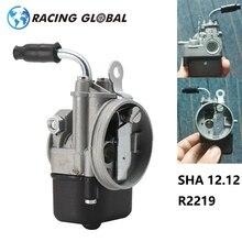 ALCON carburador de la motocicleta SHA 12,12 R2219 para PIAGGIO Ciao PX FL VESPA bolsillo SHA 12/12 Dellorto Carburedor