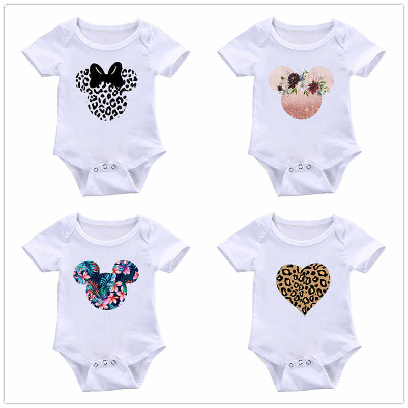 2019 High Quality Summer Infant Romper Printed Cartoon Jumpsuits Boys Girls Cute Onesies Baby Soft Clothes