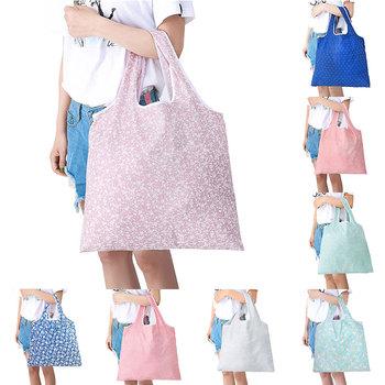 Poliestrowa torba składana torba na zakupy zakupy torba na zakupy ananasowa torba eko torba na zakupy wielokrotnego użytku wygodne torby na zatrzaski Flamingo nowość tanie i dobre opinie SFG HOUSE CN (pochodzenie) Poliester 494 494 200004091 200004091 200001601 200001601 YJ41188 361279 361279