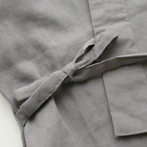Image 4 - Qweekメンズパジャマセット綿着物スパースターhombreパジャマオムソフトホームウェア2個パジャマ和風