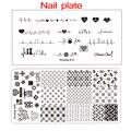 2020New бренд ногтей пластины для стемпинга (6x12) пластины для стемпинга ногтей дизайнерские ногтей пластины для стемпинга-Biutee фирменного дизай...