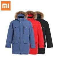 New Xiaomi Aerogel Cold Suit Weatherproof Winter Jacket Thicken Warm Parkas Hooded Coat Anorak Jackets Men's Outwear Overcoat