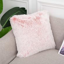 Плюшевая наволочка для дивана украшение дома декоративные наволочки