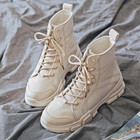 Canvas boots female ...