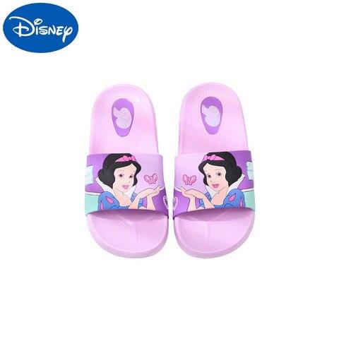 original disney criancas sapatos de praia princesa sofa do bebe meninas chinelos nao deslizamento respiravel