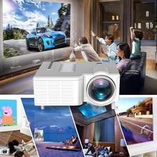 UNIC UC28CB проектор поддерживает USB, TF, AV Интерфейс мягкая ткань проекционный экран+ водонепроницаемая сумка для домашнего кинотеатра