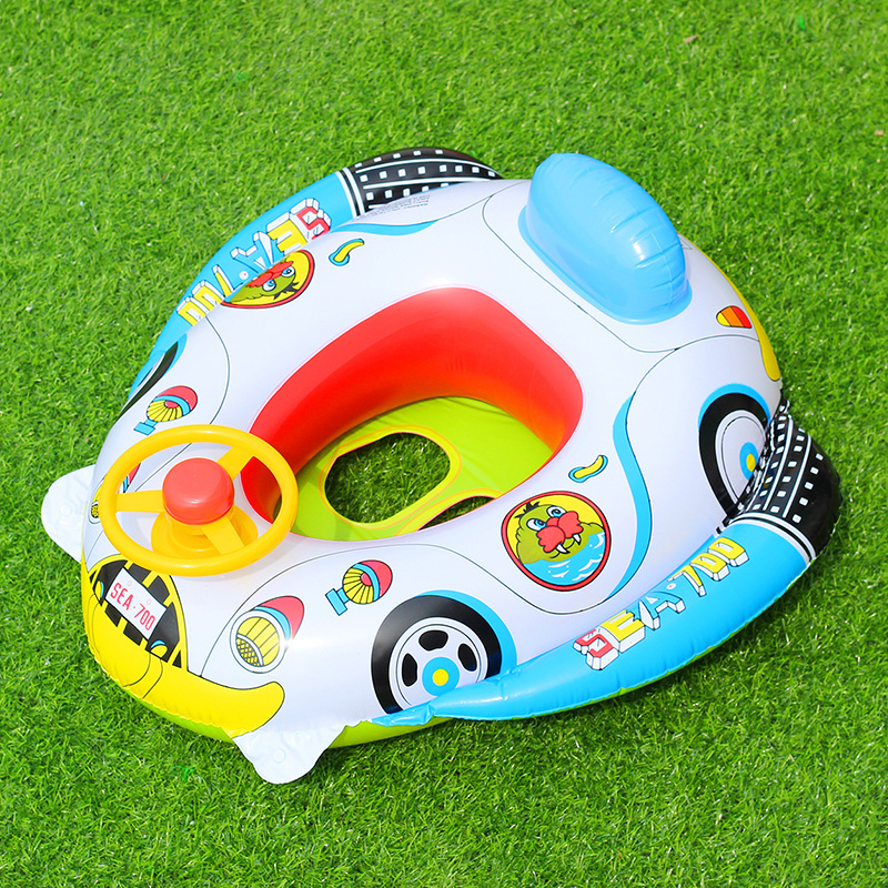 Children  The Steering Wheel  With A Flared  A Voice  Young Children  A Boat Pools & Water Fun Baby & Kids' Floats