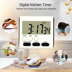 Keuken Timer 24-Uur Elektronische Timer Digitale Herinnering Wekker Thuis Koken Praktische Levert Kok Voedsel Gereedschappen