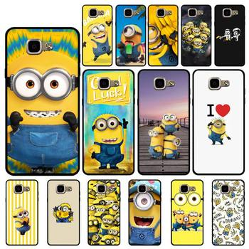 Babaite Yellow Minions Banana Phone Case for Samsung A6 A8 Plus A7 A9 A20 A20S A30 A30S A40 A50 A70 image