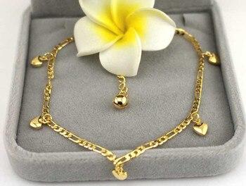 GlintLife | Hearts hanging | Ankle bracelet