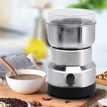 NIUXILIFE 220V Mini Electric Food Chopper Mixer Blender Pepper Garlic Seasoning Coffee Grinder Speed Grinding Kitchen Tools