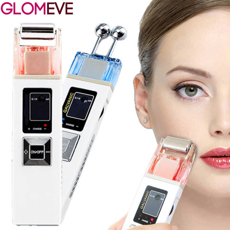 Galvanic Microcurrent Skin Firming Whiting Machine Massager Skin Care SPA Salon Beauty
