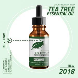 Tea Tree Essential Oil Anti-wrinkle Acne Pores Removal Scars Treatment Moisturizing Massage Oil Repair Body Skin Care Tool TSLM1