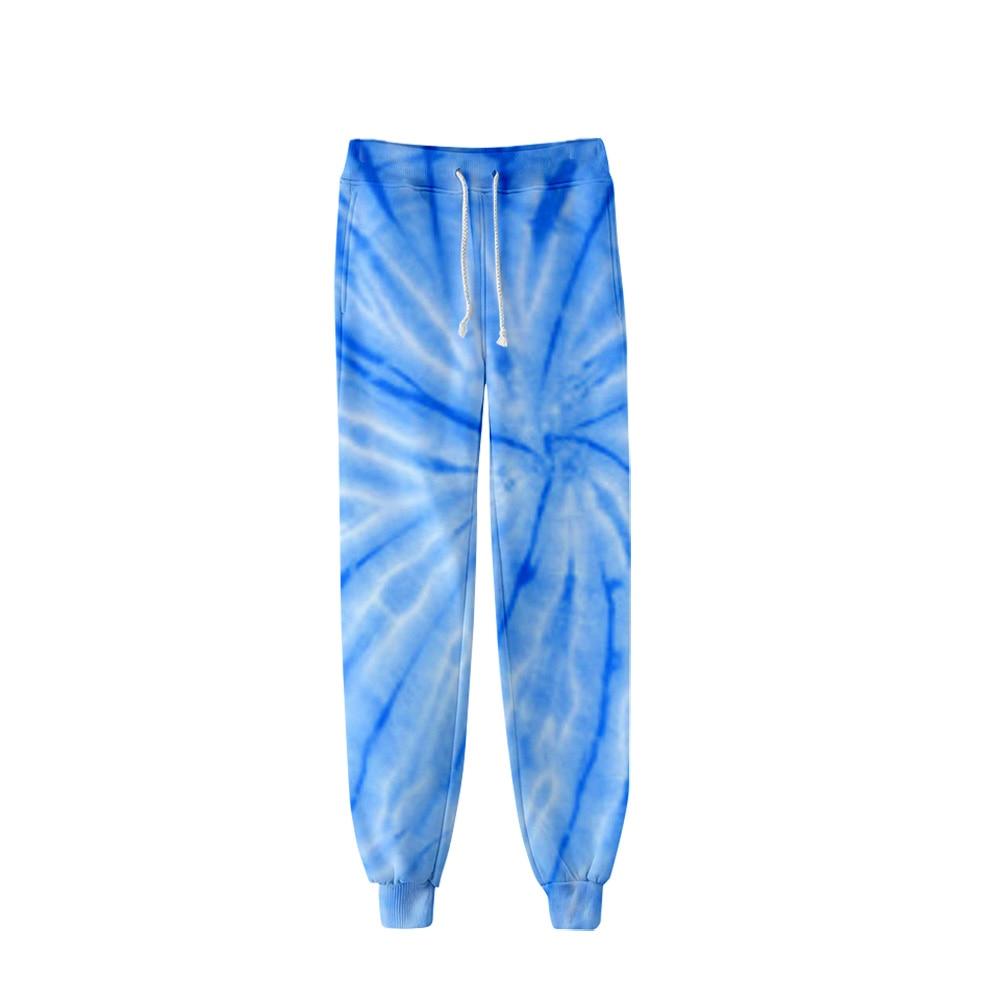 2019 Popular Tie-dye Pants Men Hip Hop Pants Trousers Kpop Fashion Casual High Quality Casual Warm Popular Tie-dye Pants