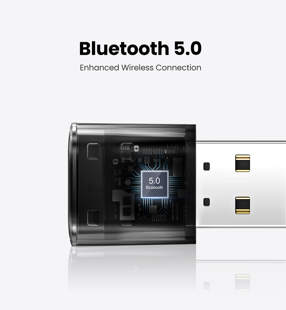 UGREEN USB Bluetooth 5.0 Dongle Adapter [CM390] BrandTech.pk Pakistan