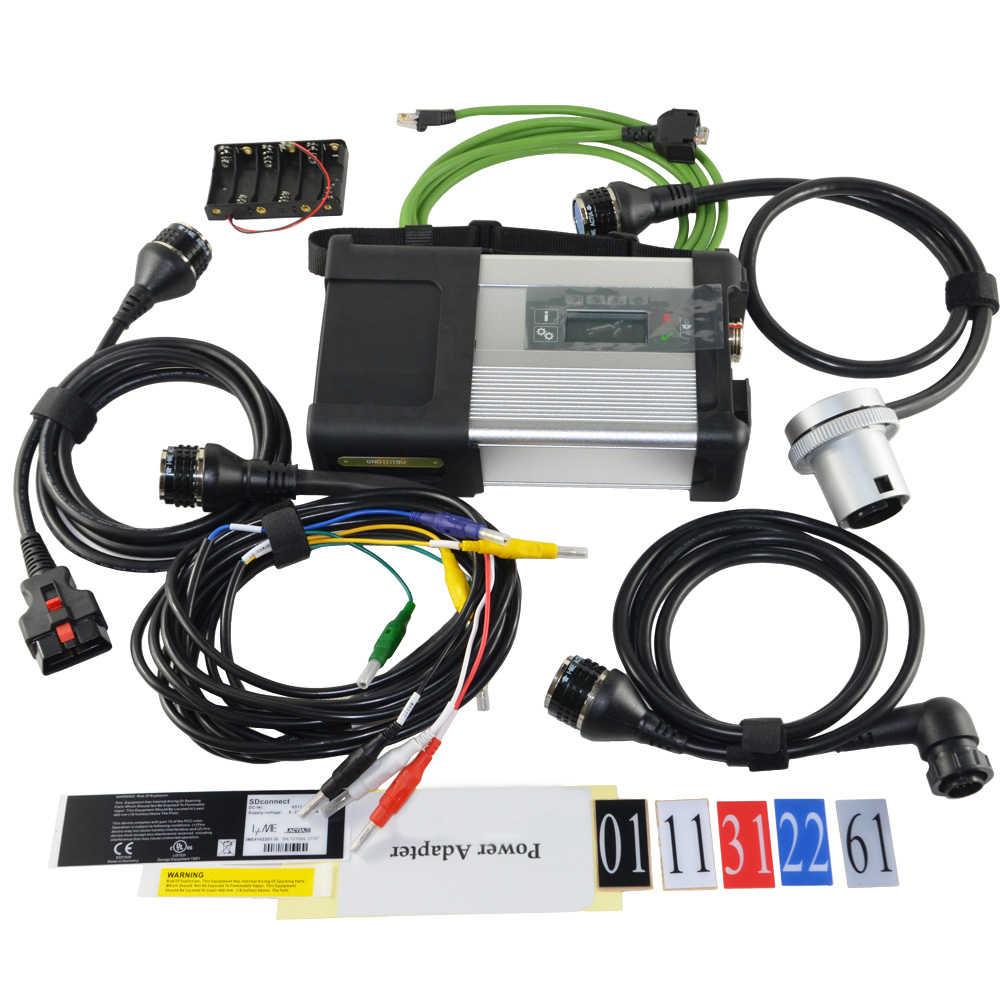 MB Star C5 MB SD conectar compacto C5 Star diagnóstico con WIFI para Benz coche y camión Software HDD 09/2019