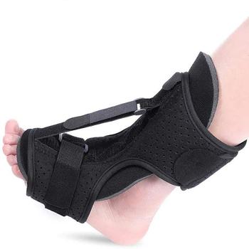 Regulowana orteza stóp orteza szyna na noc Foot Varus Valgus orteza rehabilitacja powięzi podeszwowej naprawiona z podparciem tanie i dobre opinie CN (pochodzenie) Włókniny JYK-D038-1 Zadbane kości Szelki i obsługuje stopy
