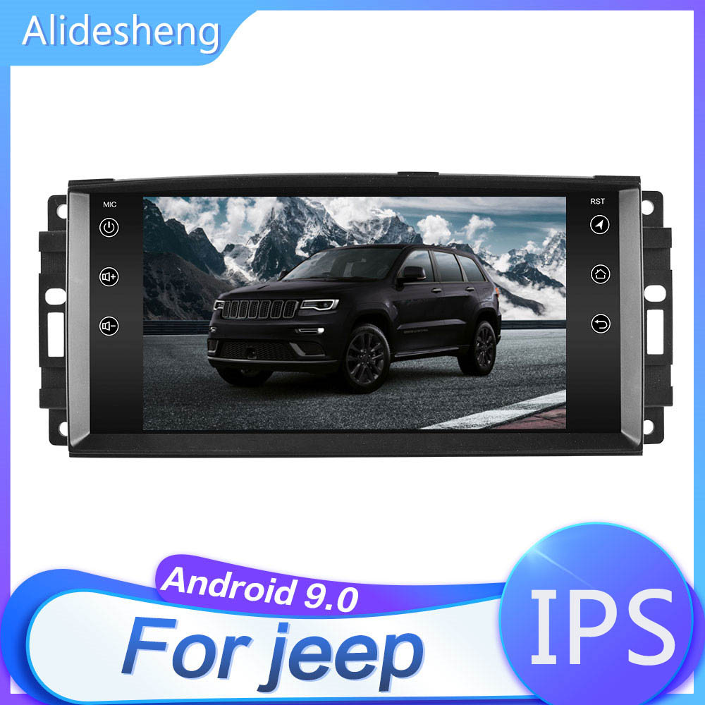 7 inch Car android 9.1 Radio Multimedia for Dodge Ram Challenger Jeep Wrangler JK Cherokee Chrysler GPS No DVD|Car Multimedia Player|   - AliExpress