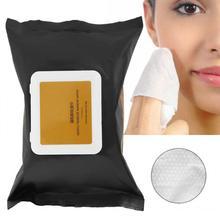 Средство для удаления лица 30 шт. Одноразовые женские влажные салфетки для глубокого очищения макияжа ватный диск полный Профессиональный макияж