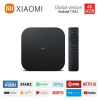 Global Xiaomi TV Box S 4K Ultra HD Android TV 2GB RAM 8GB ROM Smart TV Set Top WiFi Netflix Google Assistant Media Player