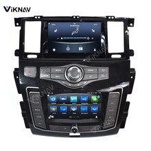 Автомобильный мультимедийный плеер с GPS-навигацией для Nissan патруль Y62 для Infiniti QX80 QX56 2012-2020 радио Android головное устройство с двойным экраном