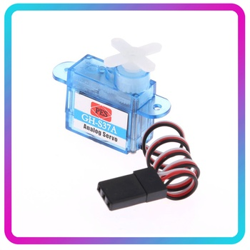 1pc 3.7G Tiny Micro Mini Plastic Gear Analog Servo for RC Airplane Toy Part for Helicopter Drone Boat Parts Tiny Micro Analog Se ldarc tiny 6x tiny 6 upgraded version 65mm mini fpv drone f3 betaflight fc 25mw 16ch vtx 716 17600kv brushed motor 250mah ph2 0