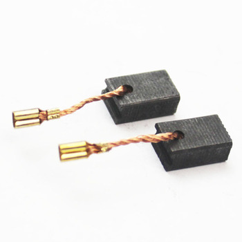 цена на 2pcs/lot 6mm x 9mm x 15mm Angle Grinder Carbon Brush Angle Grinder Replacement Spare Parts Carbon Brush