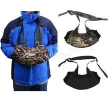 Windproof Adjustable Hand Warmer Muff Muffler Glove for Hunting Fishing Camping Hiking