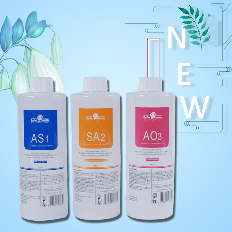 2019 Professional Hydrafacial Machine Use Aqua Peeling Solution 400 Ml Per Bottle Aqua Facial Serum Hydra Facial Serum