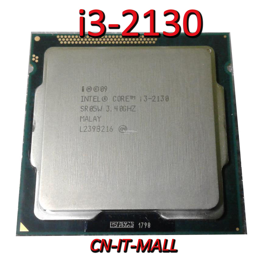 Intel Core I3-2130 CPU 3.4GHz 3MB Cache 2 Cores 4 Threads LGA1155 Processor