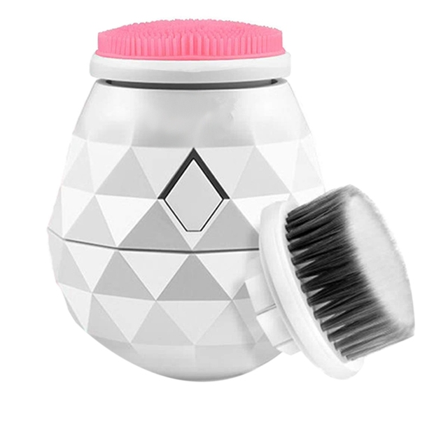 Facial Cleansing Brush Electric Cleanser Massager Waterproof