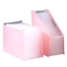 Desk File Folder For Document Portable Organizer Storage Bag Binder Multi-layer Expanding Box School Office Stationery