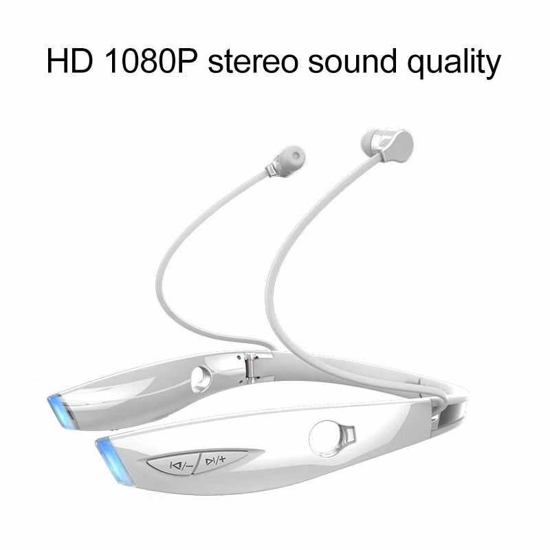 ZEALOT H1 Bluetooth słuchawki sportowa opaska na szyję bezprzewodowy zestaw słuchawkowy Sweatproof składany z mikrofonem dla iphone i android