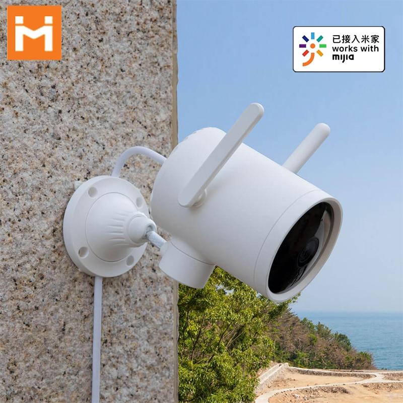 IMILAB EC3 Smart IP Camera 1080P 270° Two-Way Audio IP66 Waterproof AI Human Detection Outdoor Security Camera work with Mijia