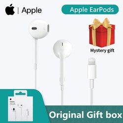Apple Earpods original Earphones Lightning Connector In-ear Sport Earbuds Deep Richer Bass Headset For iPhone/iPad For