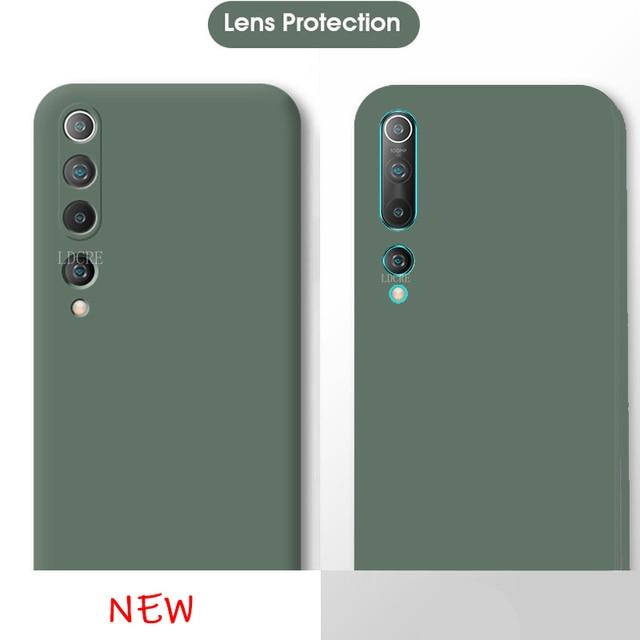 Na okładkę Xiaomi Mi Note 10 Lite etui na Mi Note 10 Lite miękki futerał na zderzak do Redmi Note 8 T Pro 9 S Mi 10 Lite Fundas