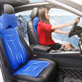 Universal Car Seat Cover Summer Cool Pad Ice Cushion Covers Set Breathable office Cooling Gel Mat Auto Accessories Interior