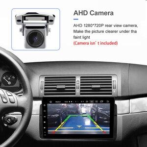 Image 4 - Iسودار 1 الدين أندرويد راديو تلقائي لسيارات BMW/E46/M3/روفر/3 سلسلة سيارة لتحديد المواقع مشغل وسائط متعددة ثماني النواة رام 4G USB كاميرا DVR Diskless