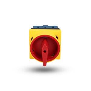 Image 3 - Przełącznik kamery Ue 440V Ith 20A izolator izolatora przełącznik ON OFF 3 biegun (certyfikat CE, CCC, TUV) 300010