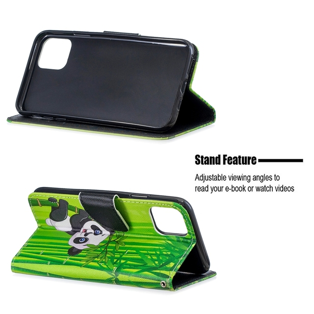 Flip Wallet Case For Fundas iPhone 11 Pro Case PU Leather Cover For Coque Apple iPhone 11Pro iPhone 11 Pro Max Case Capinha